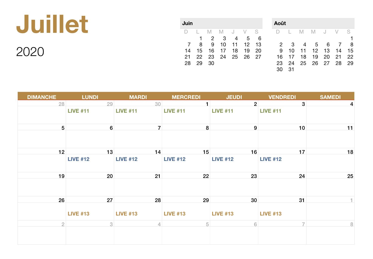 Juillet - 2020