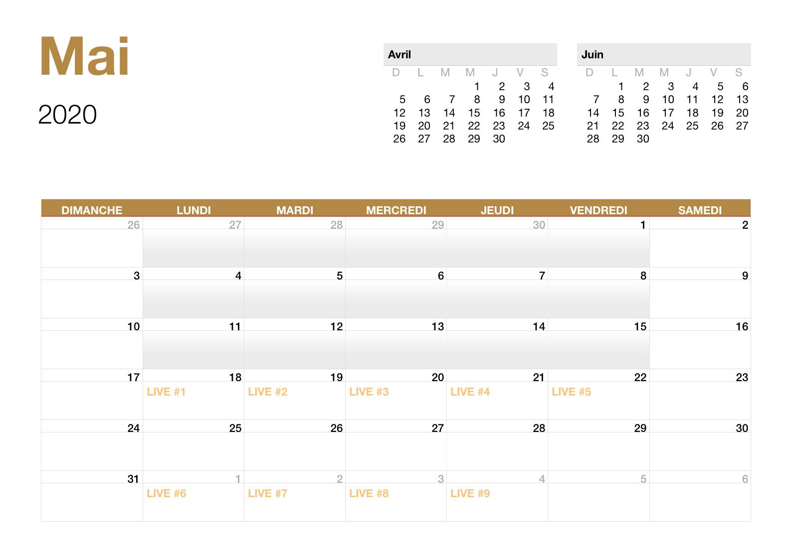 Mai - 2020